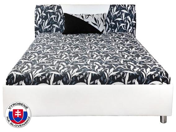 Manželská posteľ 160 cm Broňa (s molitanovým matracom)