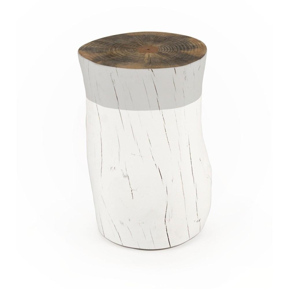 Taburetka z borovicového dreva Surdic Tronco Gris