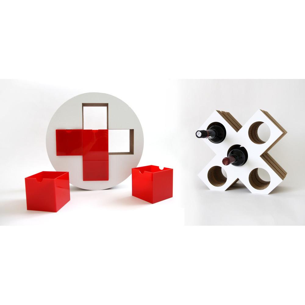 Set červenej lekárničky a vinotéky Unlimited Design For Children