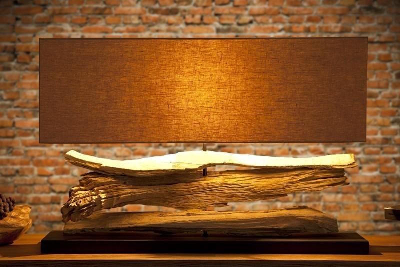 Stolná lampa ACAMAR - béžová