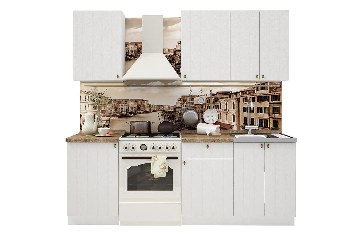 PROVENSAL 160 kuchynská zostava, biele drevo