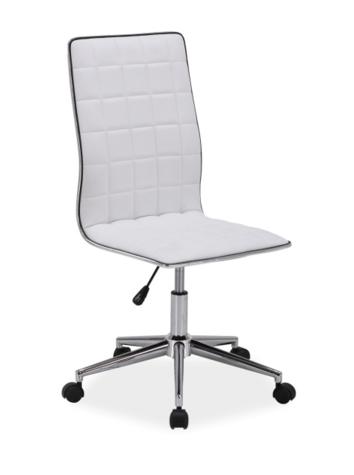 Kancelárska stolička Q-017 biela