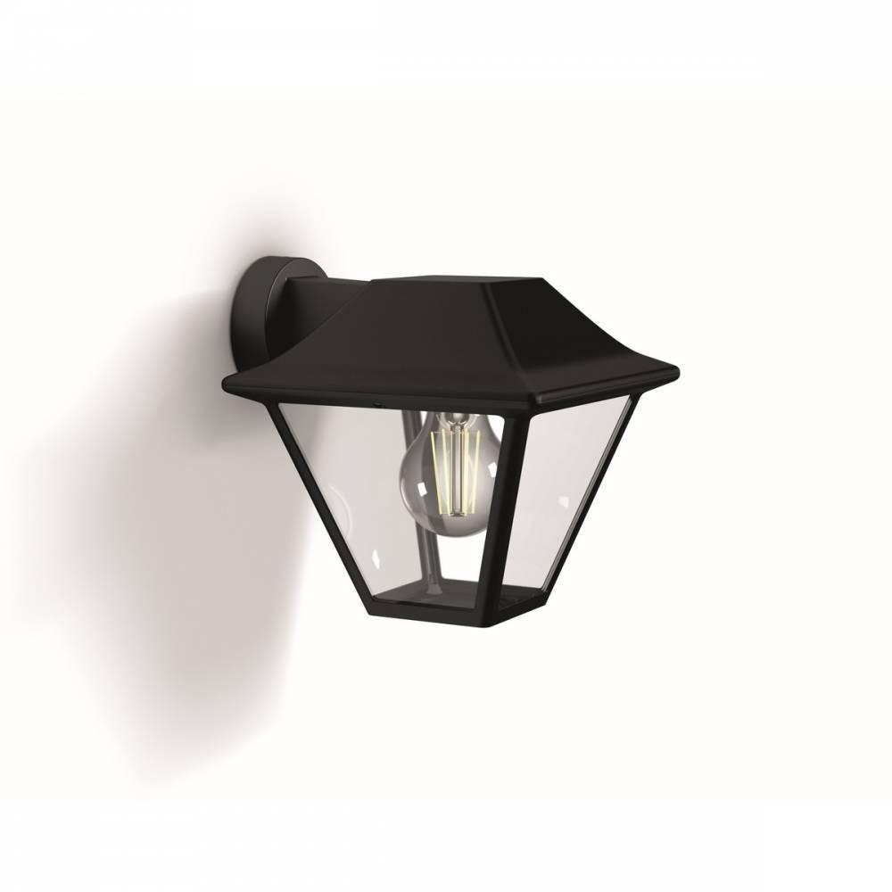 Philips 16495/30/PN Alpenglow Vonkajšie nástenné svietidlo 20 cm, čierna