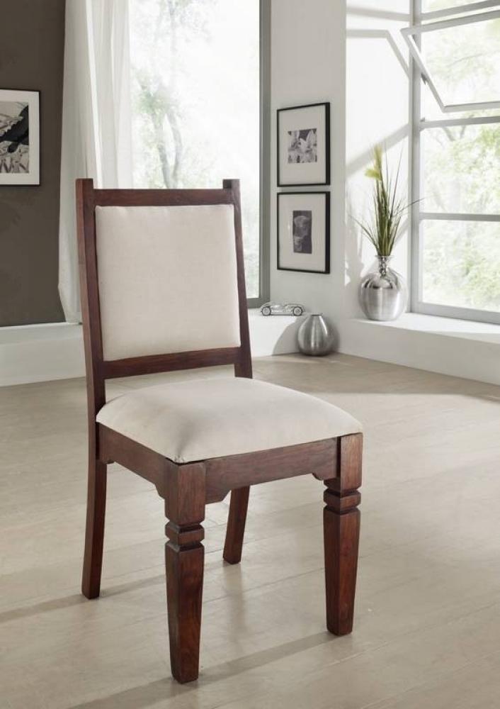 SUNO OXFORD Kolonial stolička, masívny agátový nábytok #610