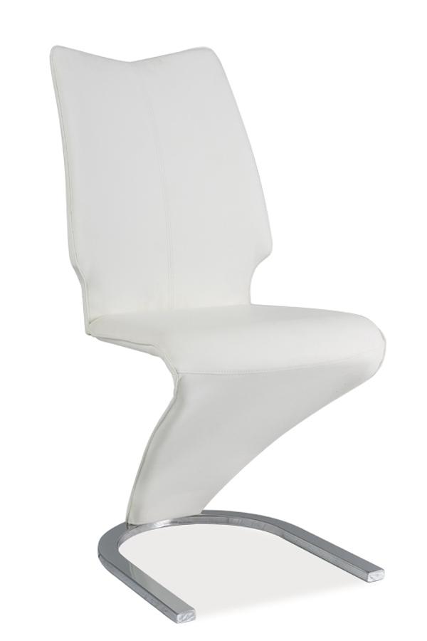 HK-050 jedálenská stolička, biela