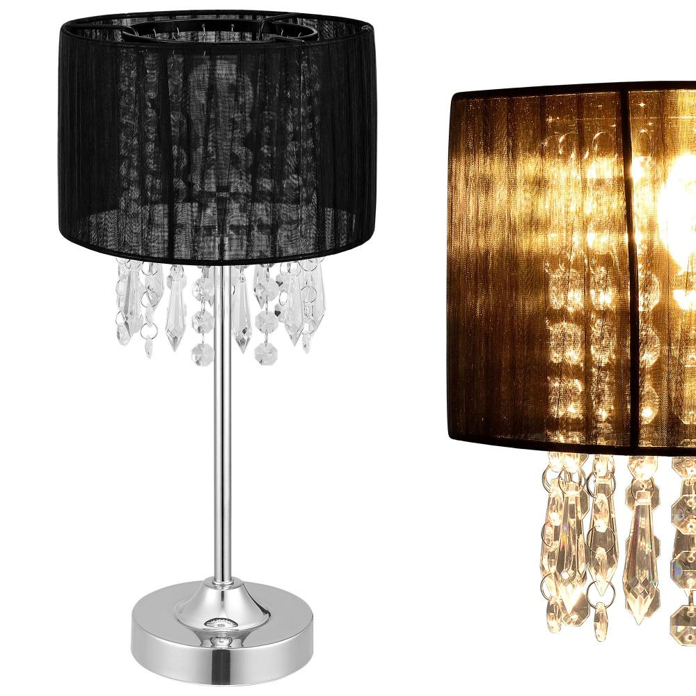 [lux.pro]® Elegantná stolová lampa – nočná lampa - Bellevue / 1 x E14