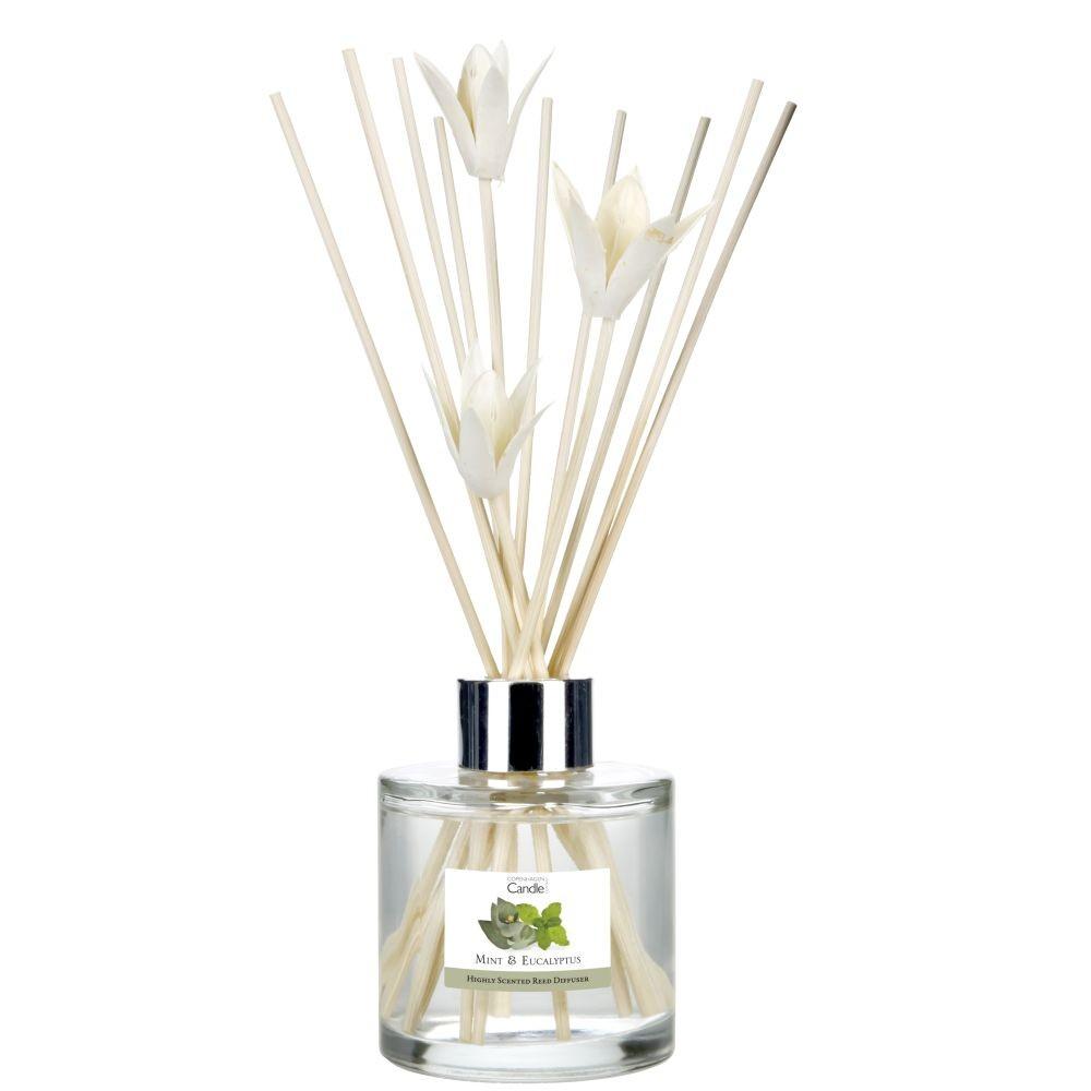 Aromatický difuzér Copenhagen Candles Mint & Eucalyptus, 100 ml