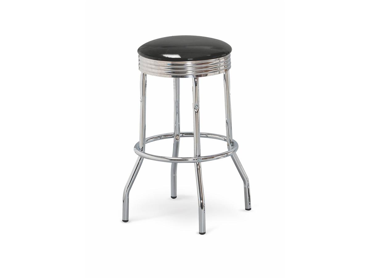Barová stolička H-73 (čierna)
