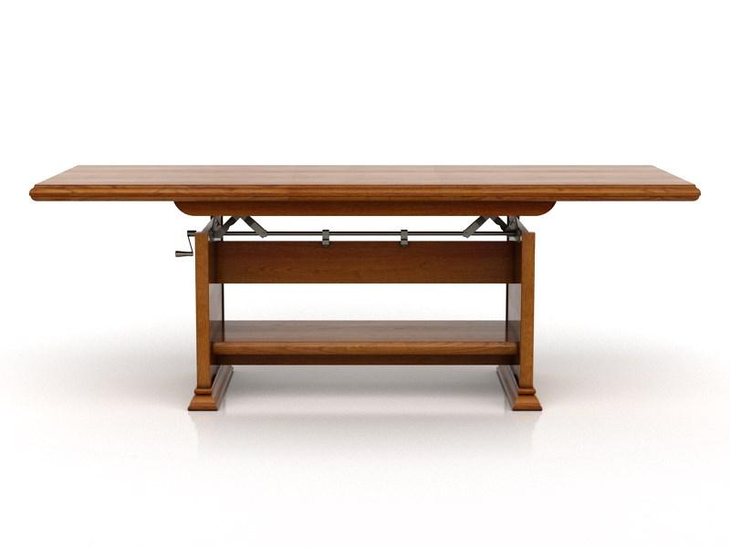 Konferenčný stolík KENT ELAST 130/170 (Gaštan)