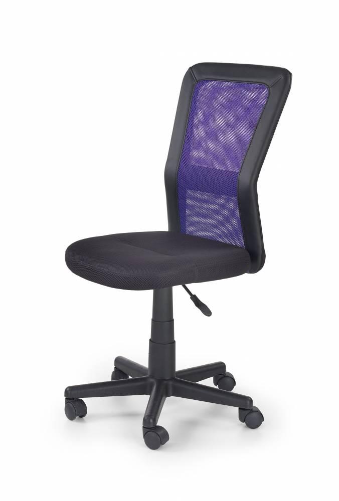 Detská stolička Cosmo (čierna + fialová)