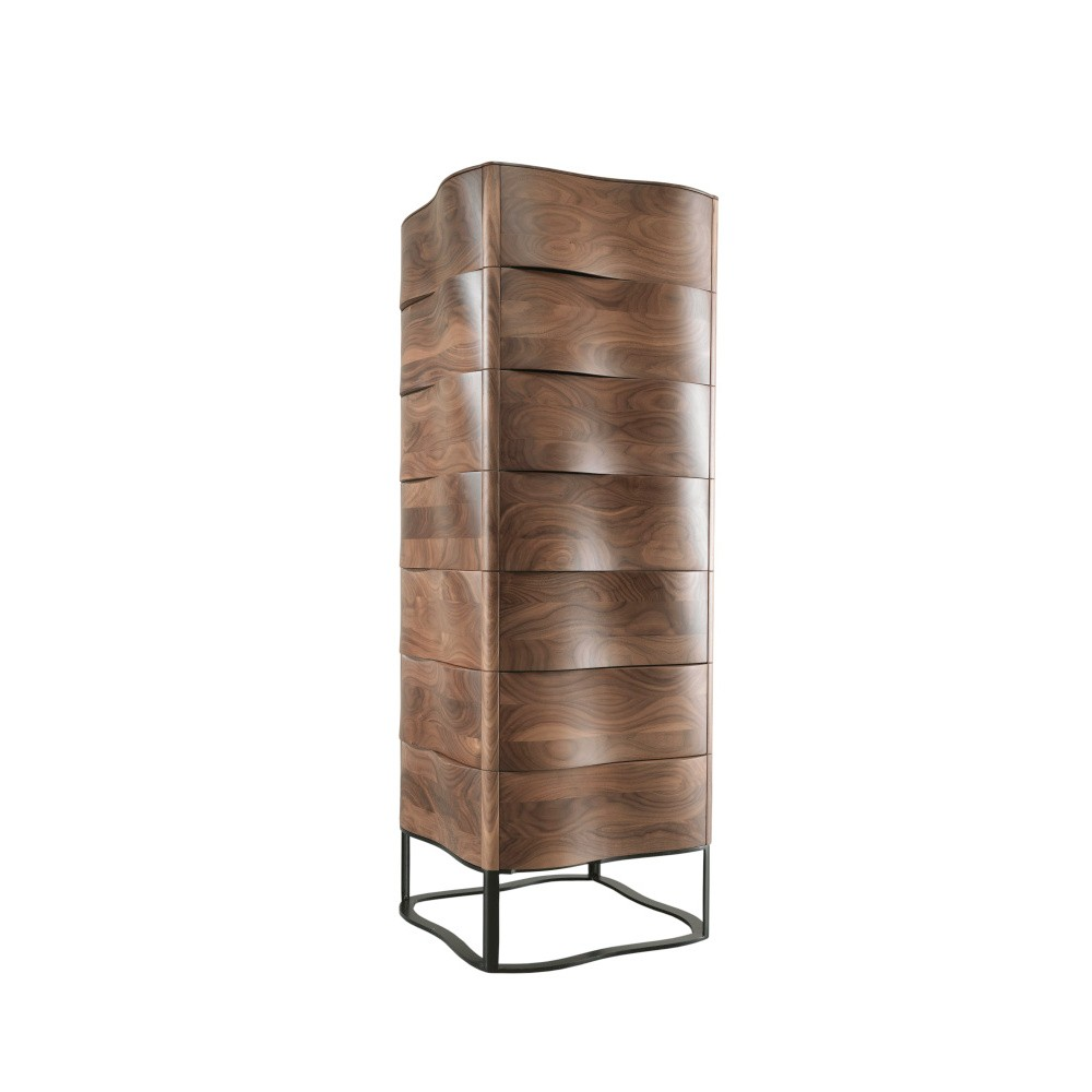 Komoda z orechového dreva so 7 zásuvkami Wewood - Portugues Joinery Touch