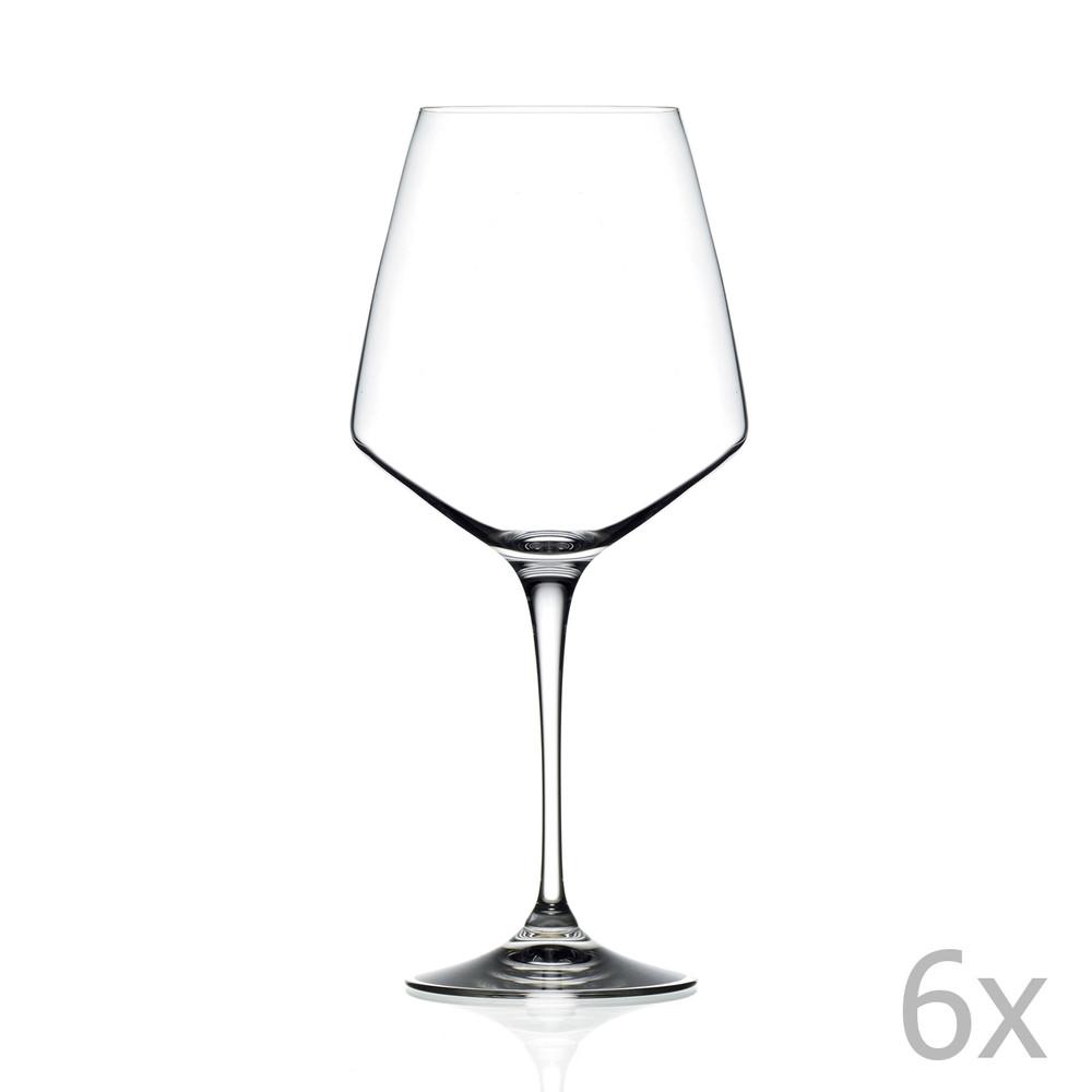 Sada 6 pohárov na víno RCR Cristalleria Italiana Alberta