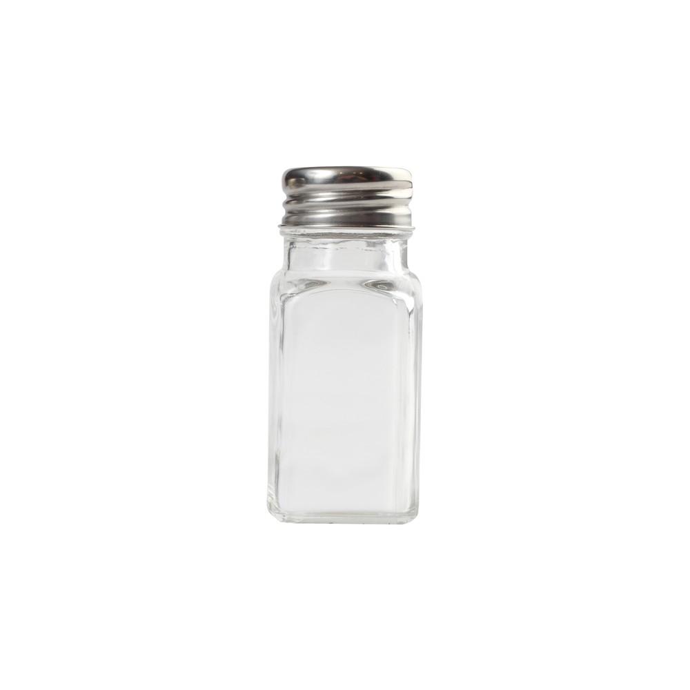 Sklenená soľnička/korenička s antikoro uzáverom T&G Woodware, 80 ml