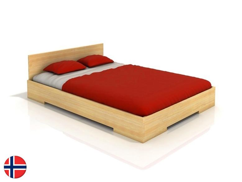 Manželská posteľ 200 cm Naturlig Kirsebaer (borovica) (s roštom)
