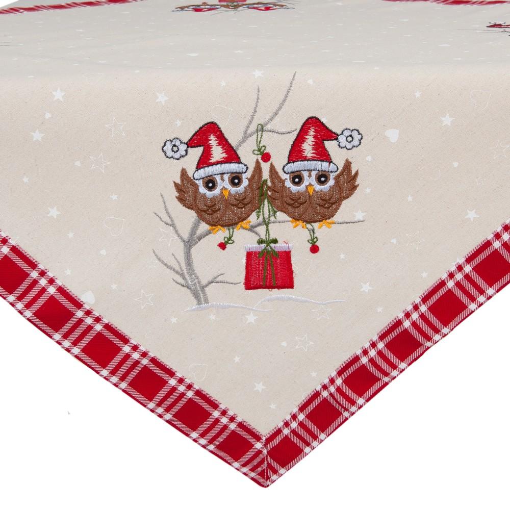 Obrus Clayre & Eef Christmas Spirit, 85 x 85 cm