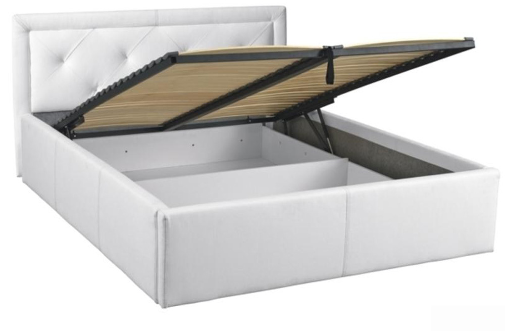 Čalúnená posteľ s úl.priestorom KARO 140x200 cm, bez roštu