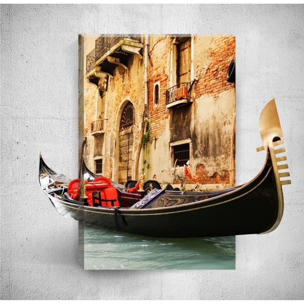 Nástenný 3D obraz Mosticx Boat Ride, 40×60 cm