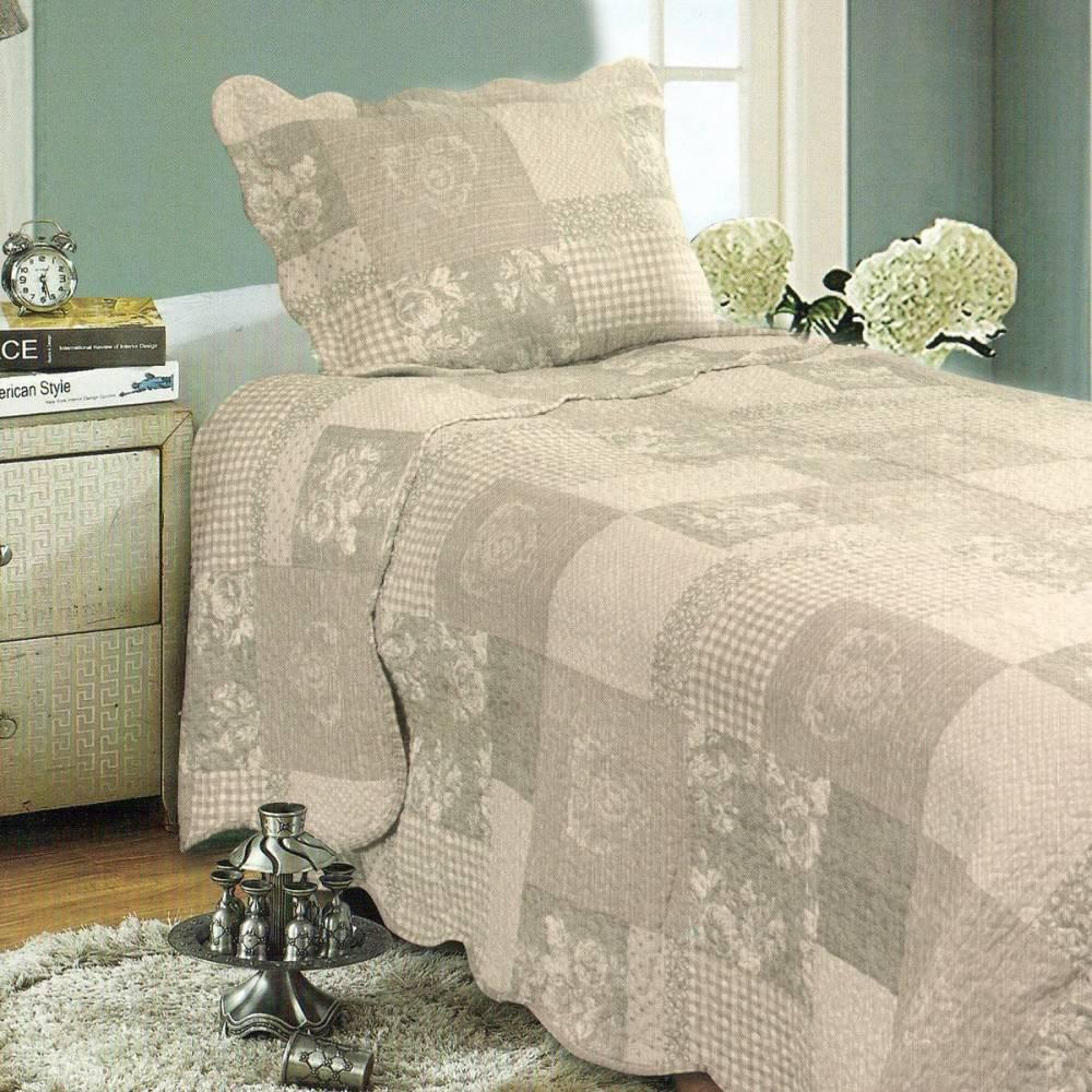 Prehoz na posteľ Patchwork, 140 x 200 cm, 1x 50 x 70 cm, 140 x 200 cm