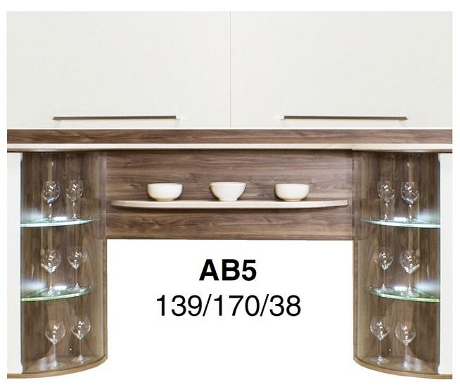 ABSOLUTE vitrína AB5