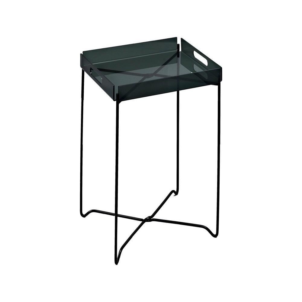 Čierna odkladací stolík Design Twist Nagpur