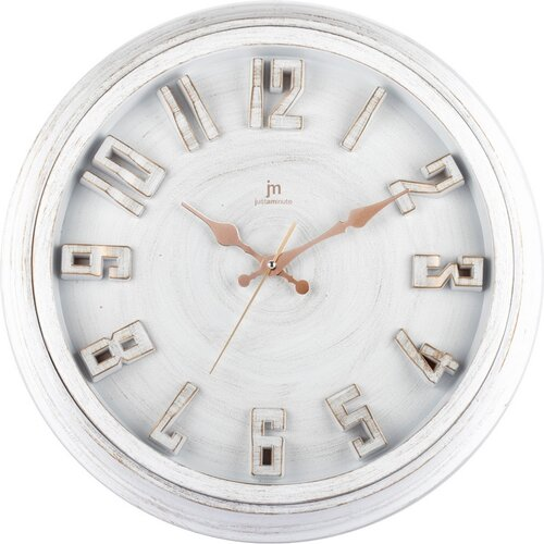 Lowell 00825B Dizajnové nástěnné hodiny pr. 40 cm