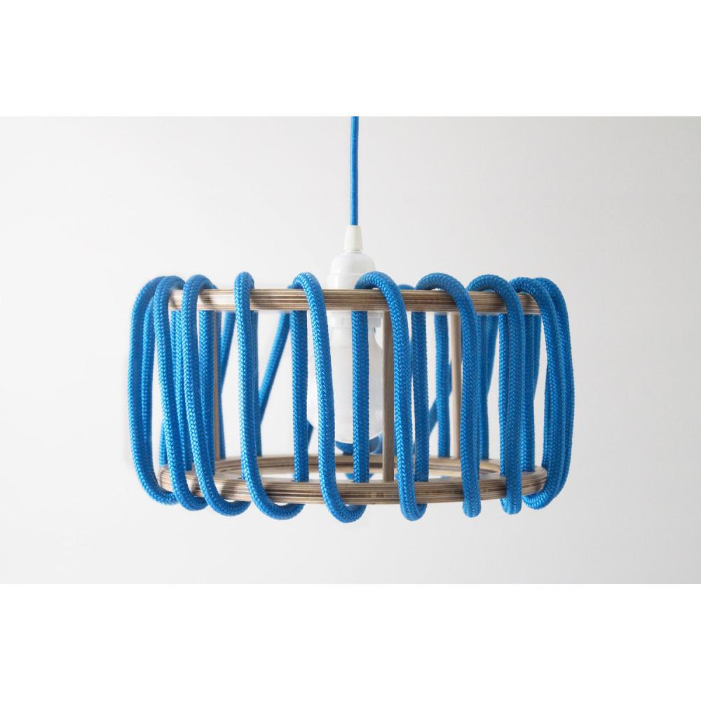 Modré stropné svietidlo Emko Macaron, 45 cm