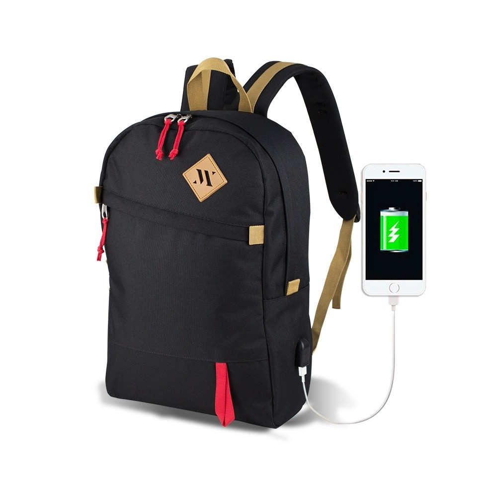 Čierny batoh s USB portom My Valice FREEDOM Smart Bag