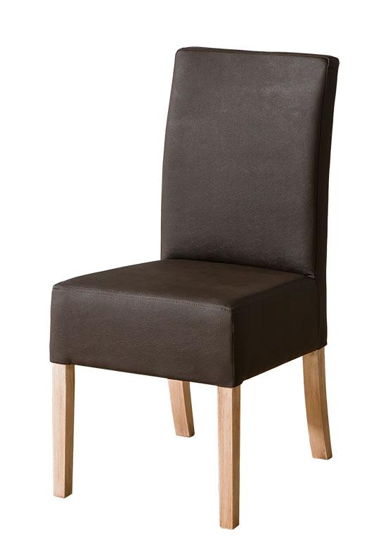 Jedálenská stolička CARMELO C23   Farba: Tmavo hnedá