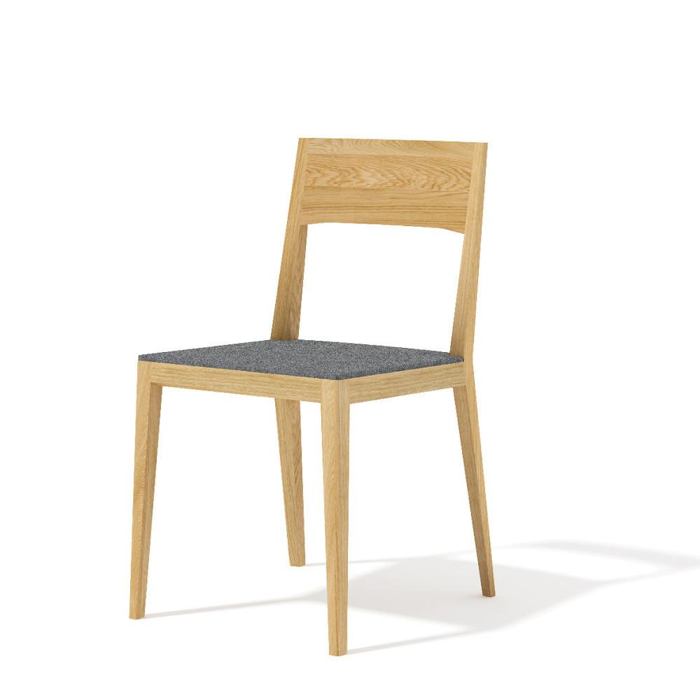 Jedálenská stolička z masívneho dubového dreva Javorina Inca