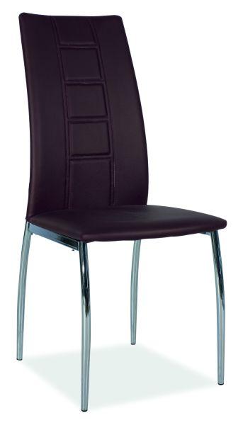 Jedálenská stolička H-880 hnedá