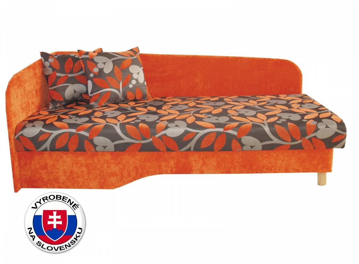 Jednolôžková posteľ (váľanda) 194 cm Benab Joka plus (L) (s roštom, matracom)