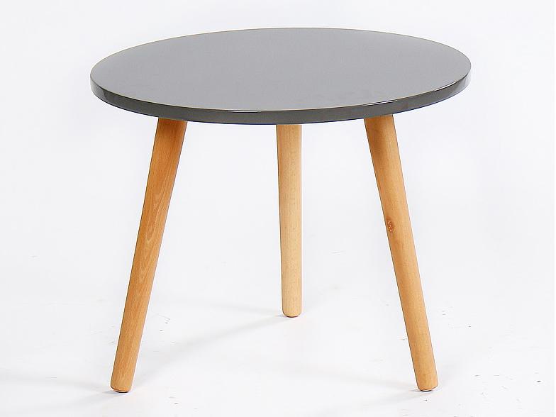 Konferenčný stolík Bazzy 2 (sivá)