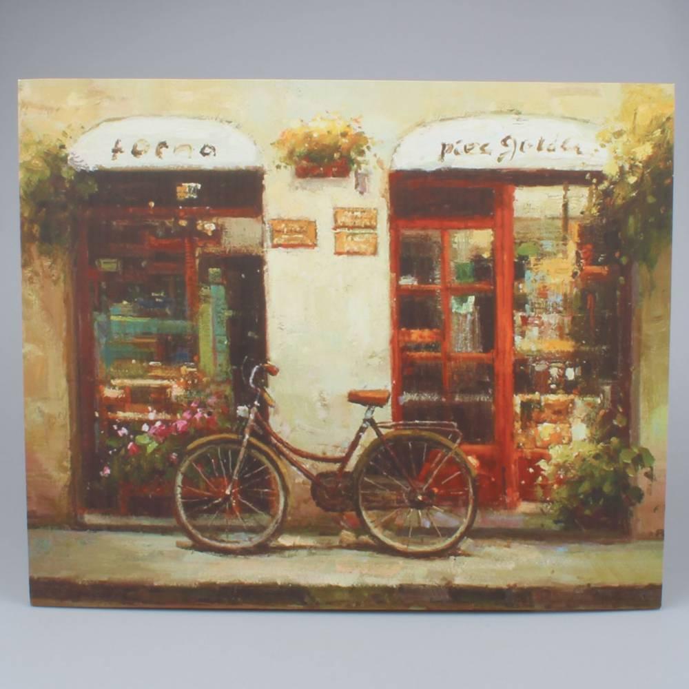 Obraz na plátne Bicykle