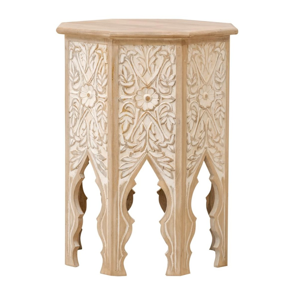 Odkladací stolík z masívneho mangového dreva Massive Home Sweet