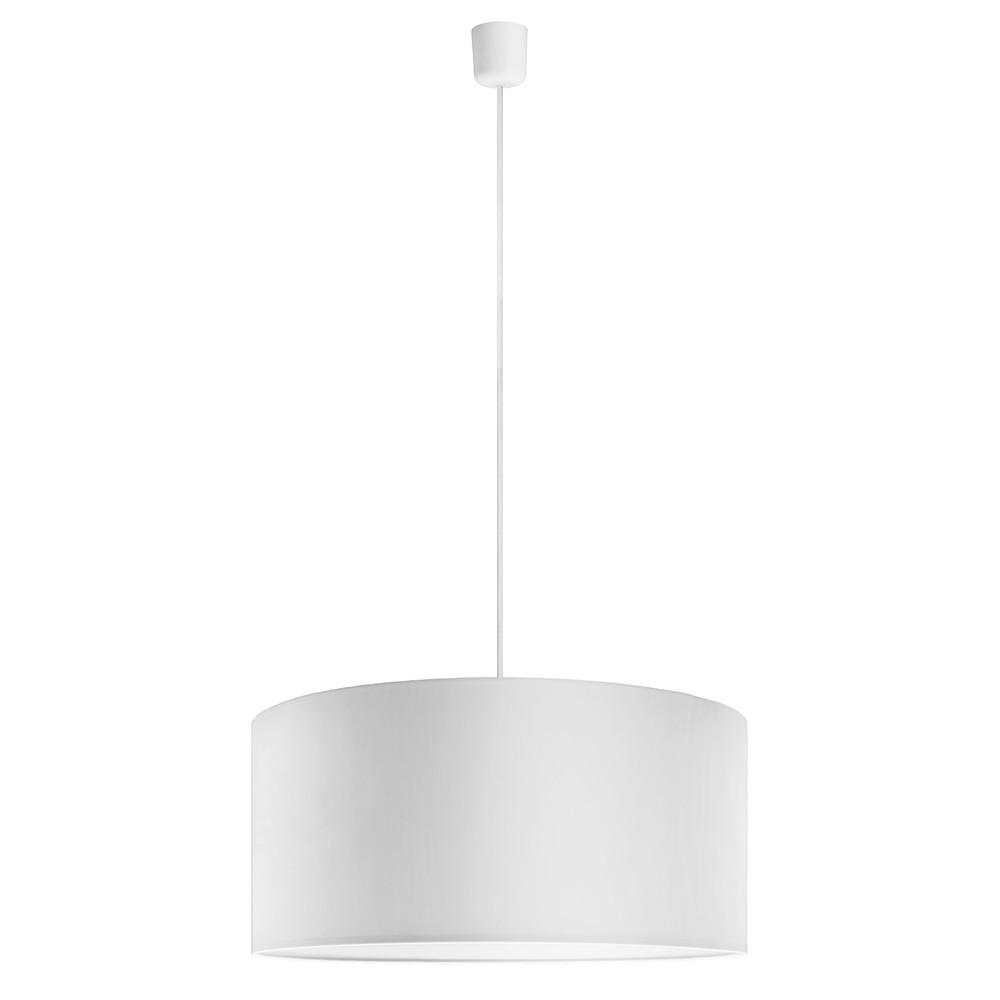 Biele závesné svietidlo Sotto Luce Mika, Ø 50 cm