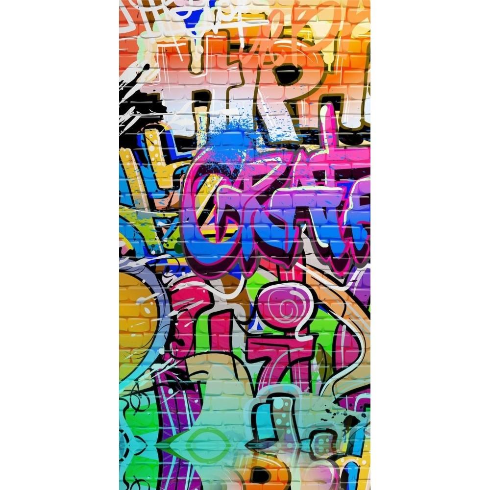 Plážová osuška s potlačou Good Morning Grafity, 150 x 75 cm