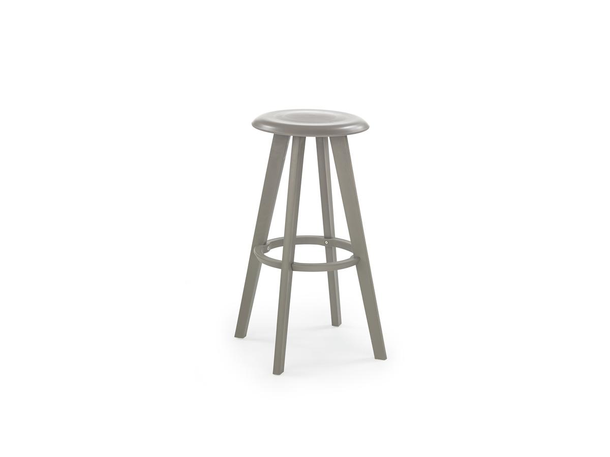 Barová stolička H-77 (sivá)