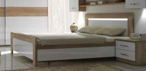 MENHETEN posteľ s úložným priestorom L160P