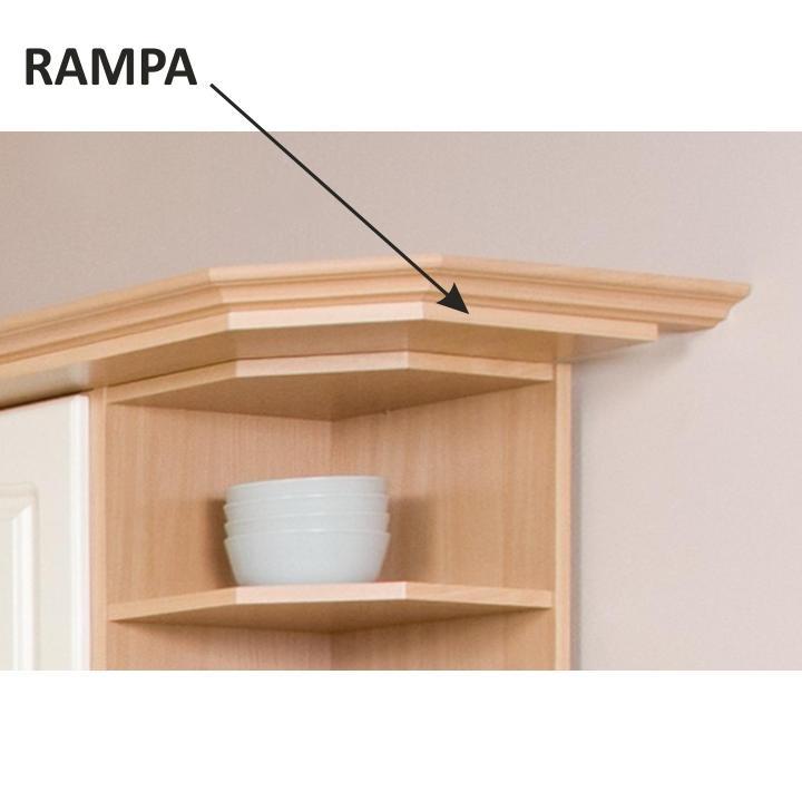 TEMPO KONDELA Kuchynská rampa, buk, na skrinku GN-60