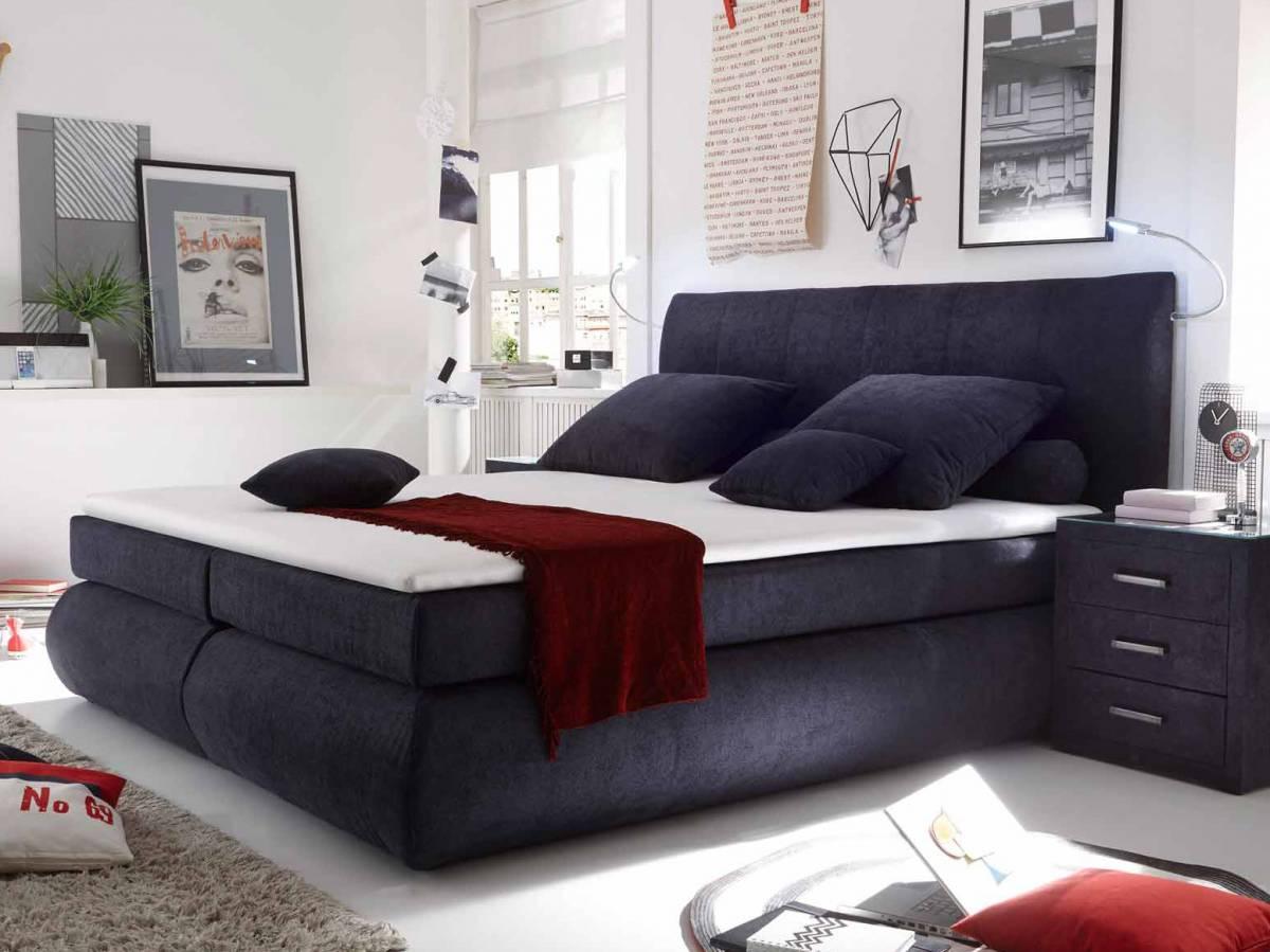 Manželská posteľ Boxspring 160 cm Como (s matracom)
