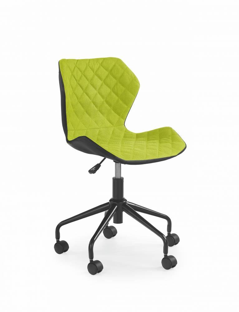 Detská stolička Matrix (zelená + čierna)