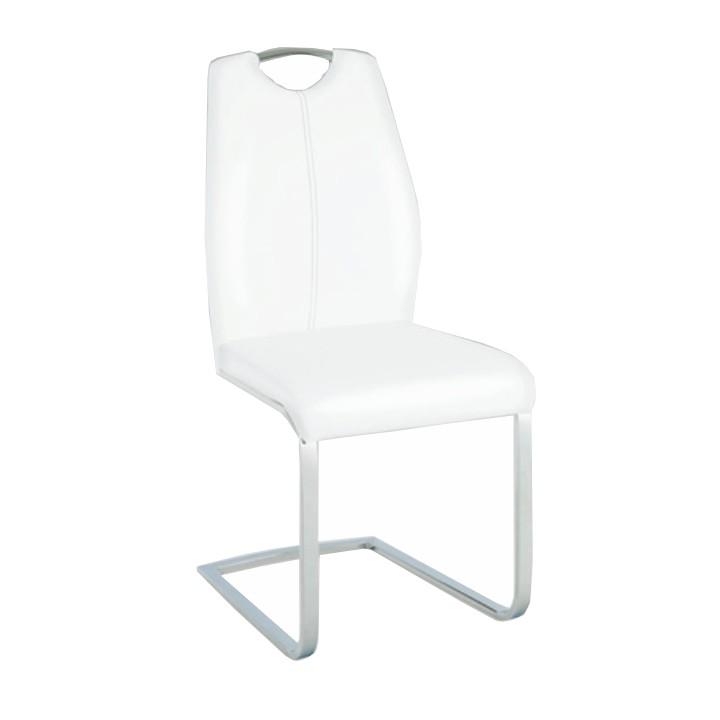 Jedálenská stolička Nesta (biela)