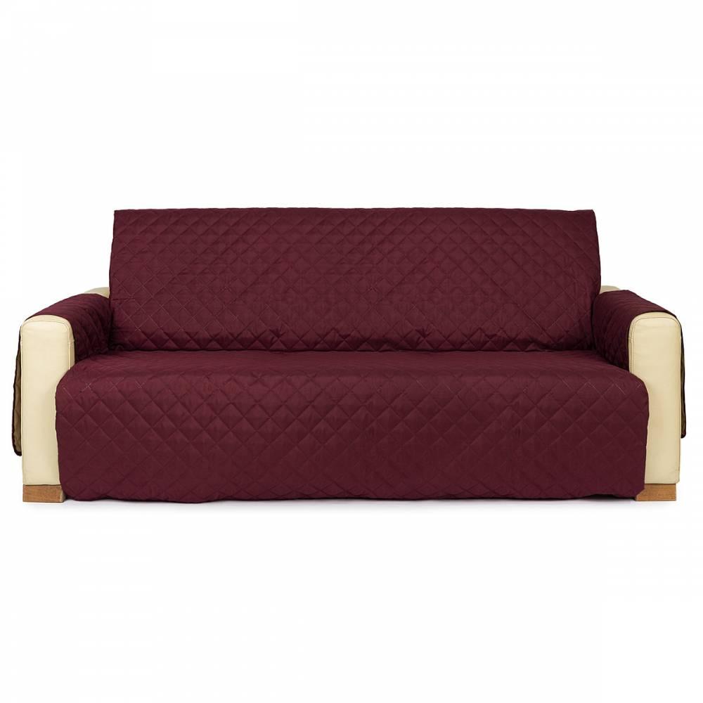4Home Prehoz na sedaciu súpravu Doubleface bordó/béžová, 180 x 220 cm