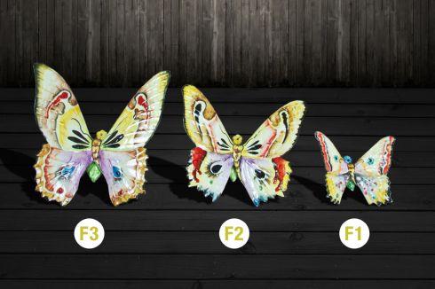 Motýľ na stenu, Veľkosť Malá