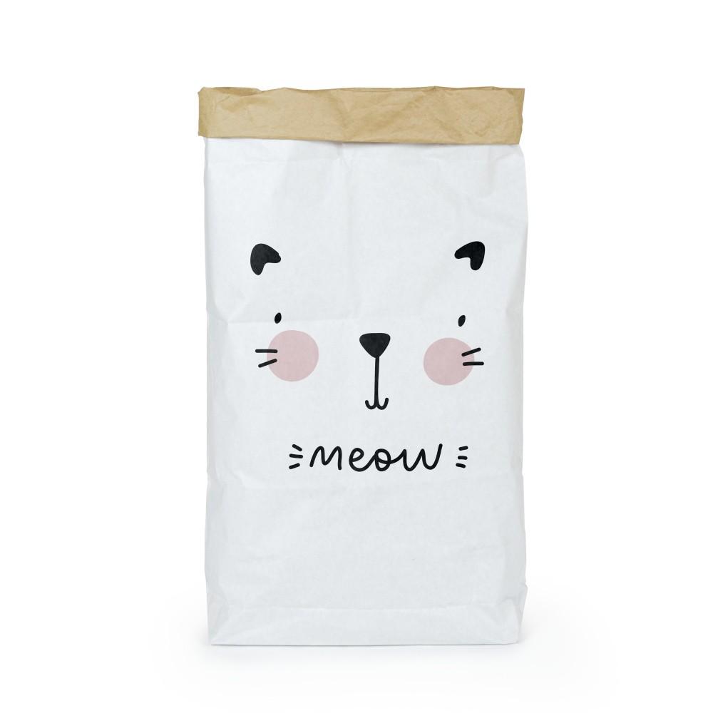 Organizér z recyklovaného papiera Tanuki Meow