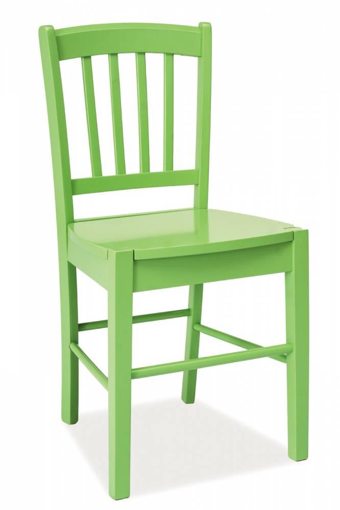 Jedálenská stolička CD-57 (zelená) *výpredaj