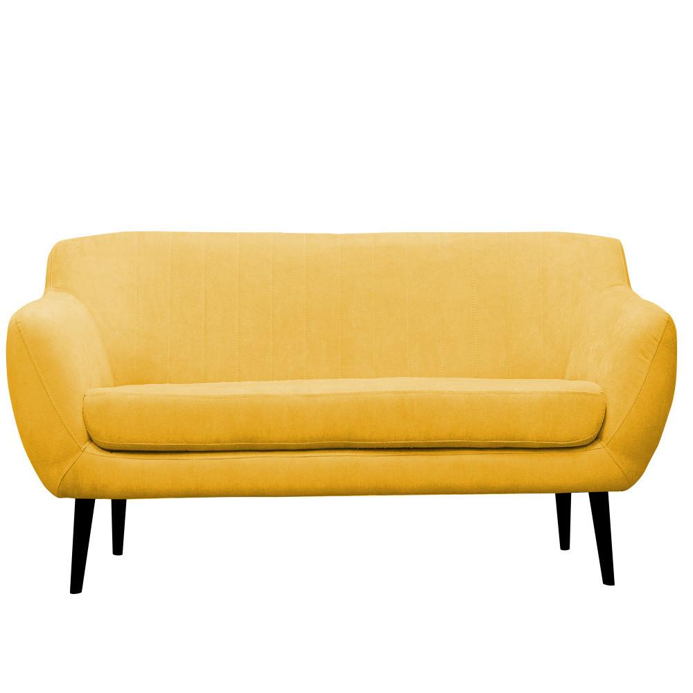 Žltá pohovka pre troch Mazzini Sofas Toscane