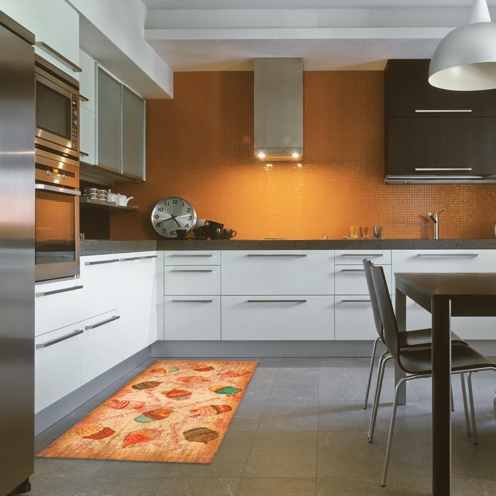Vysokoodolný kuchynský koberec Webtapetti Cakes, 60 x 140 cm