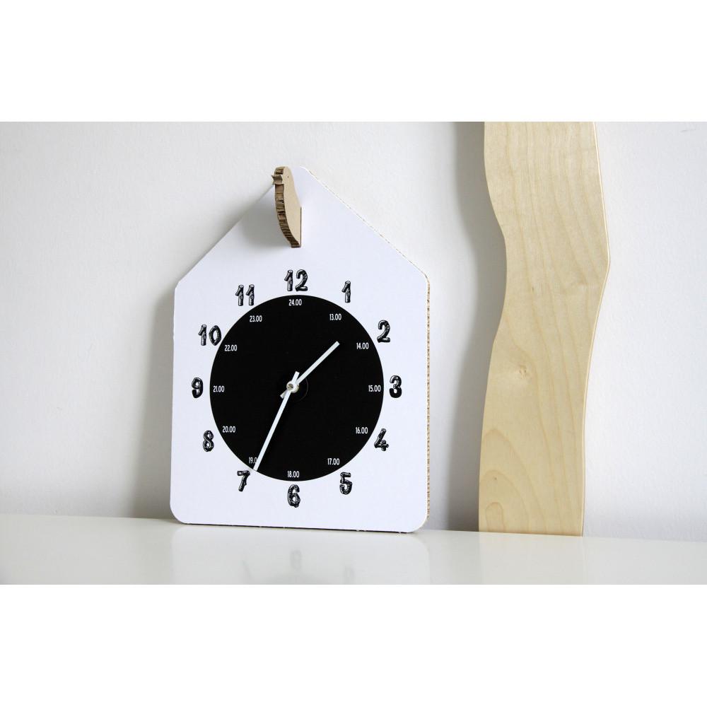 Biele hodiny Unlimited Design For Children