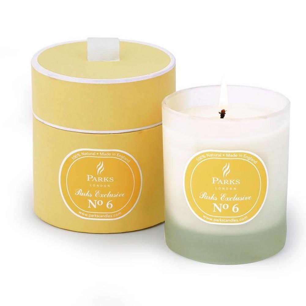 Sviečka s vôňou limetky a citrónu Parks Candles London Exclusive, 50 hodín horenia